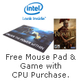 Free Mousepad & Game with CPU Purchase