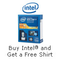 Buy Intel® and Get a Free Shirt