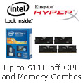 Save Up to $110 on Extreme Edition CPU + Memory Combos