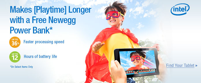 Makes Playtime Longer with a Free Newegg Power Bank