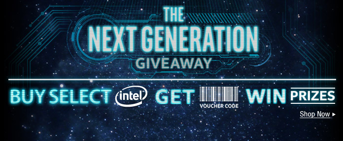 THE NEXT GENERATION GIVEAWAY