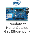 INTEL INSIDE FREEDOM TO MAKE OUTSIDE