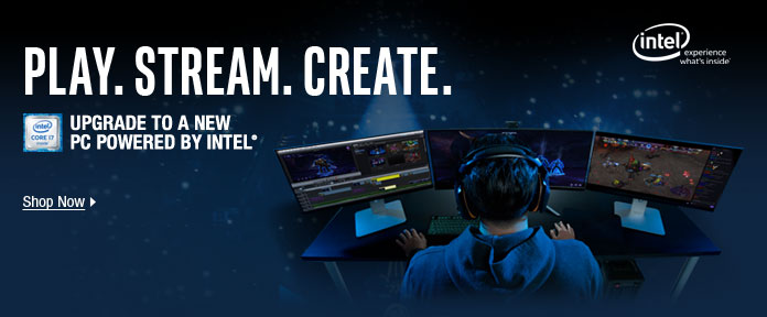 PLAY. STREAM. CREATE.