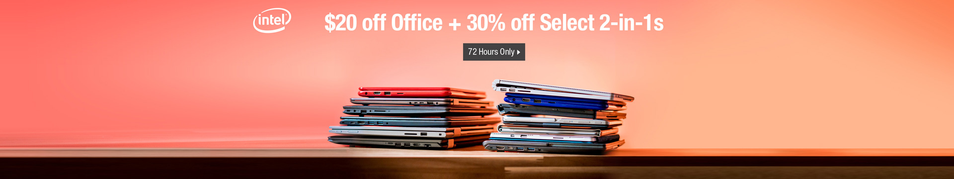 $20 off office + 30% off select 2-in-1s