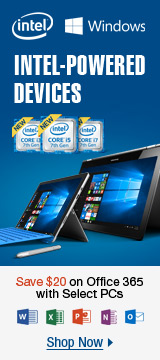 Intel Powered 7th Gen Devices