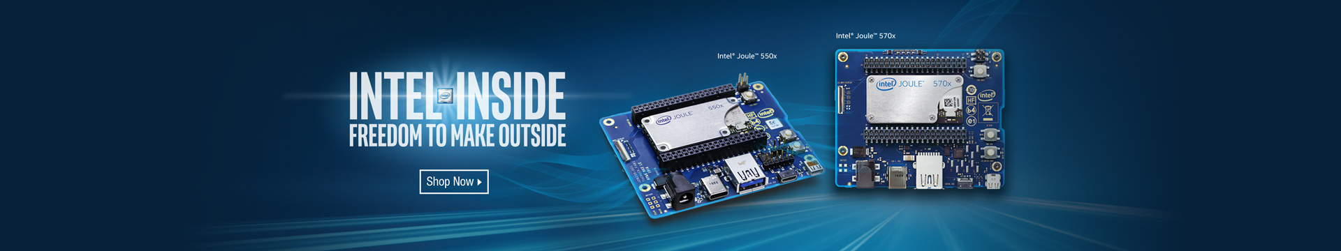 Intel inside: freedom to make outside