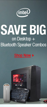 Save Big on Desktop + Bluetooth Speaker Combos