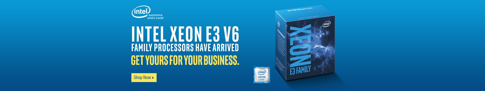 Intel Xeon E3 V6 Family Processors Have Arrived