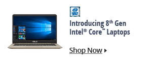 Introducing 8th Gen Intel Core Laptops