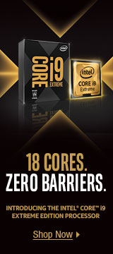 18 CORES. ZERO BARRIERS.