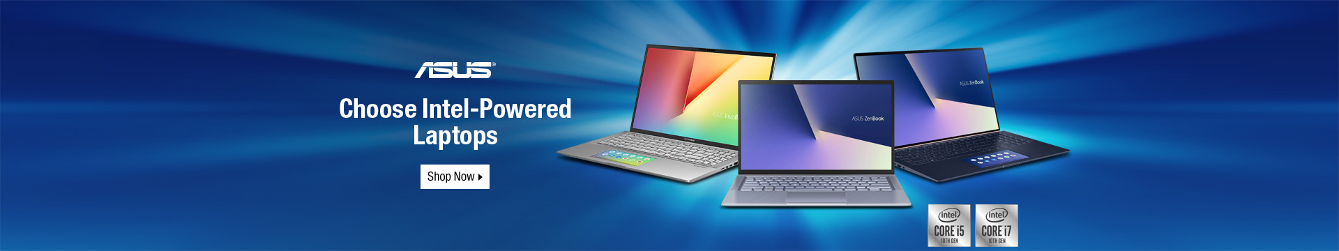 Choose Intel-powered laptops