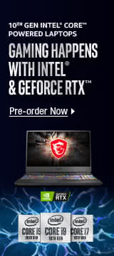 Gaming Happens with INTEL & Geforce RTX