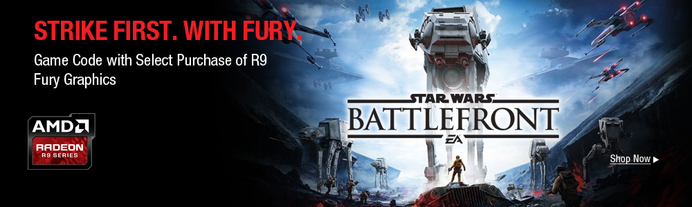 AMD Free Star Wars Game w/R9 Fury