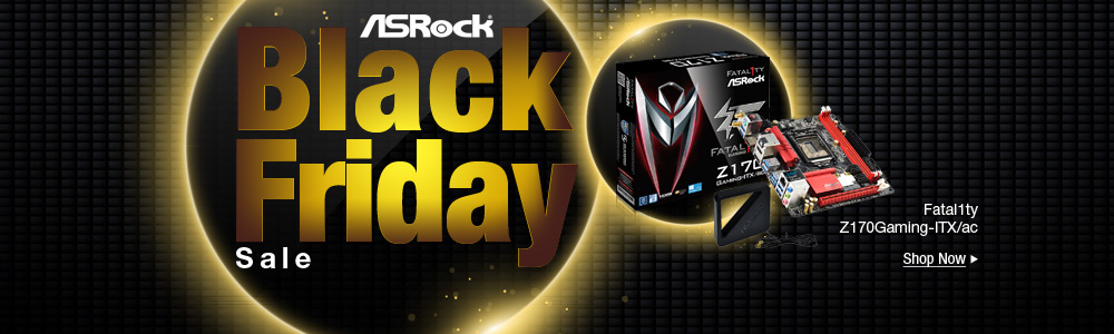 ASRock Motherboard Black Friday