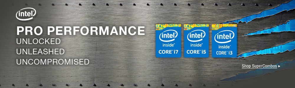 SuperCombo Intel CPU