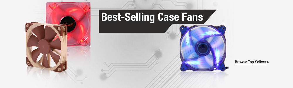 Best-Selling Case Fans