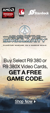 Buy select R9 380 or R9 380x Video Cards, Get a free game code