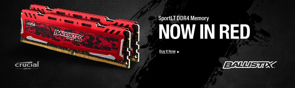 Crucial Ballistix Sport LT DDR4 - Memory