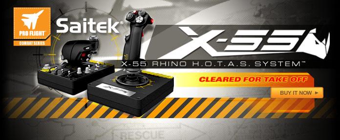 Saitek X-55 RHINO