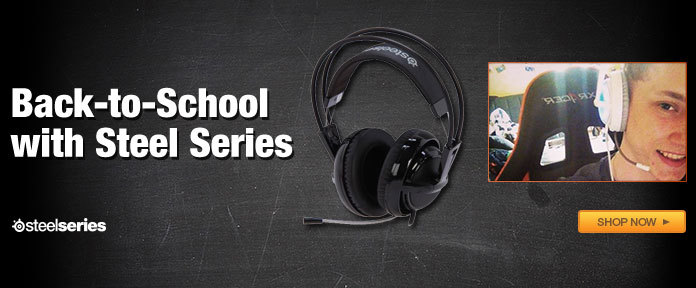 Back To School with Steel Series
