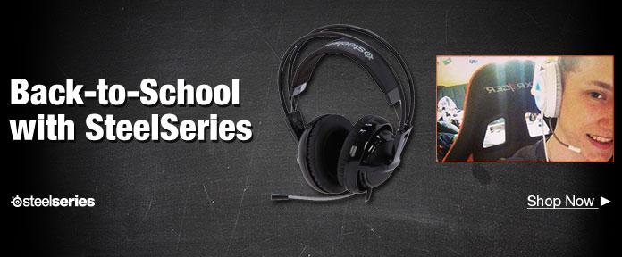 Back To School with SteelSeries