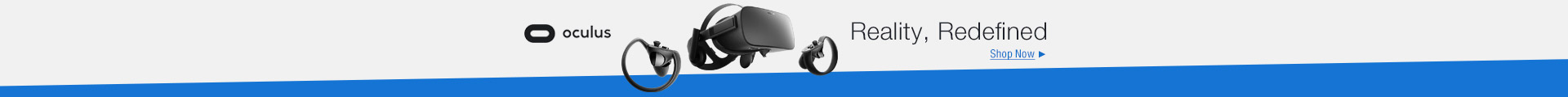 Oculus reality, redefined