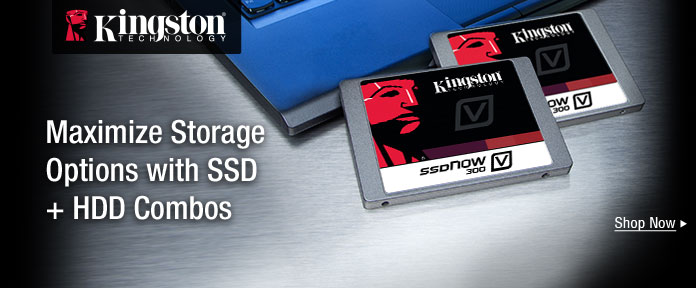 Maximize Storage Options with SSD + HDD Combos