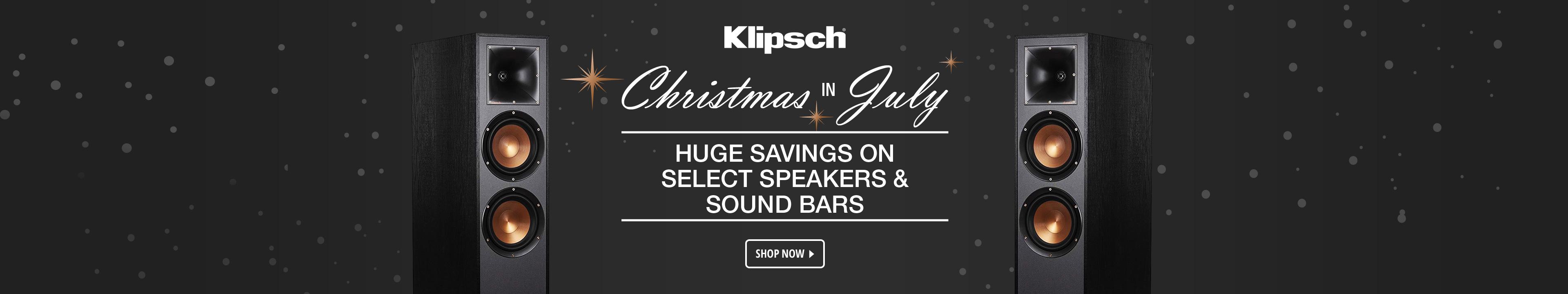 Klipsch Christmas in July