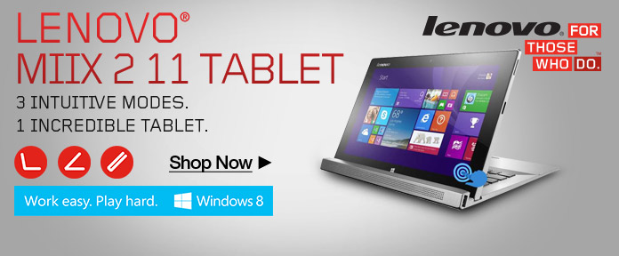 Lenovo Miix 2 11 2in1 Tablet