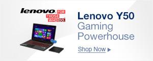 Lenovo Y50 Gaming Powerhouse