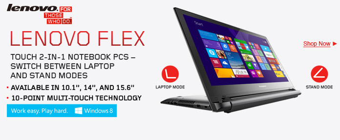 Lenovo Flex Touch 2-in-1 Notebook
