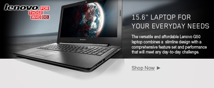 "Lenovo G50 15.6"" Laptop for your everyday needs"