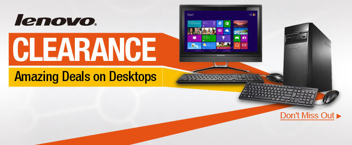 Lenovo Clearance-Amazing Deals on Desktops