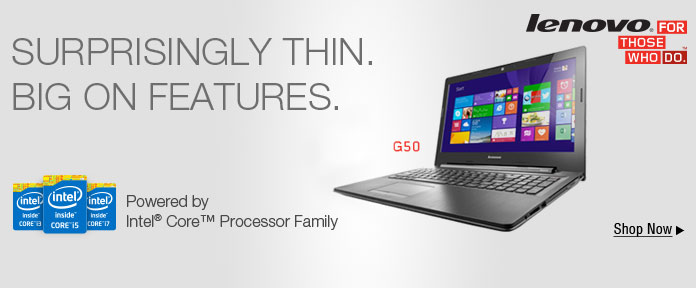 SURPRISINGLY THIN, BIG ON FEATURES