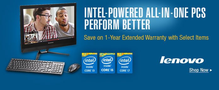 INTEL-POWERED ALL-IN-ONE PCs