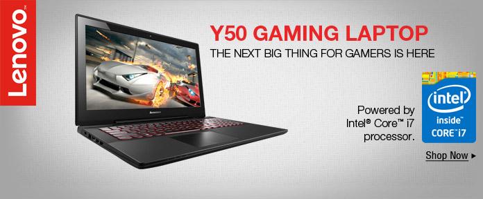 Y50 gaming laptop