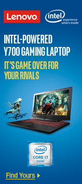 INTEL-POWERED Y700 GAMING LAPTOP