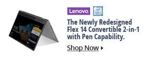 The Newly Redesigned Flex 14