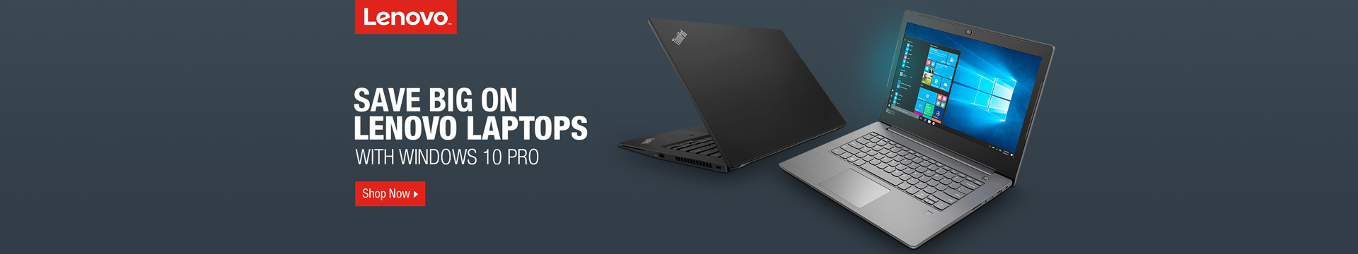 Save Big on Lenovo Laptops