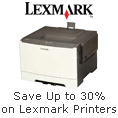 Save up to 30% on Lexmark printers