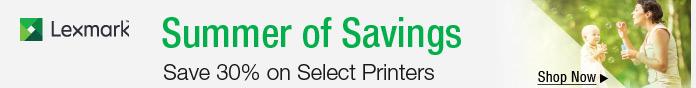 Save 30% on Select Printers