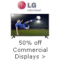 50% off Commercial Display