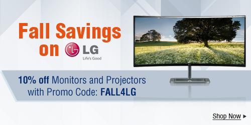 Fall Savings on LG