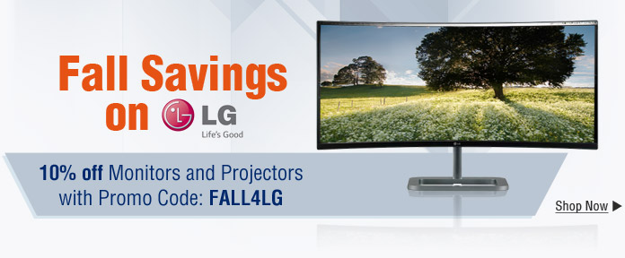 Fall Savings on LG