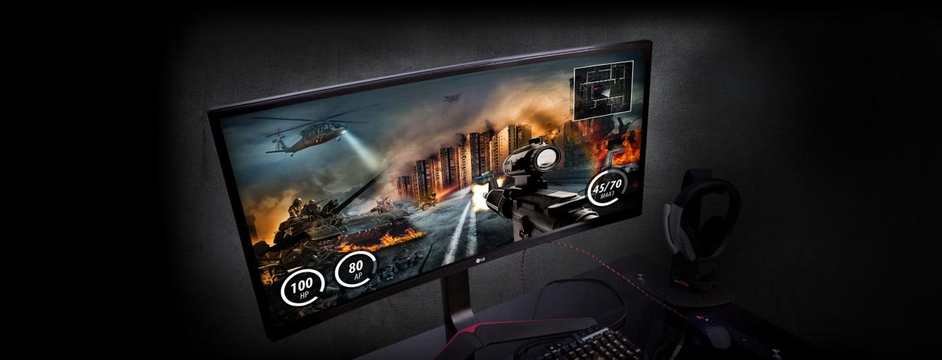 See the NEW LG UltraWide® G-Sync™ Gaming Monitor | Newegg com