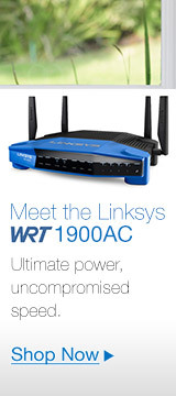 Linksys WRT 1900AC Dual Band Gigabit Wi-Fi® Router
