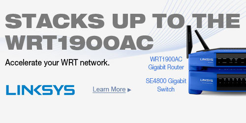 STACKS UP TO THE WRT1900AC