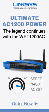 LINKSYS ULTIMATE AC1200 POWER