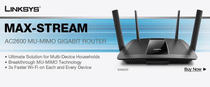 Linksys AC2600 MU-MIMO Gigabit Router