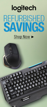 Logitech Refurbished Savings